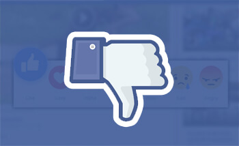 facebook dislike button mini