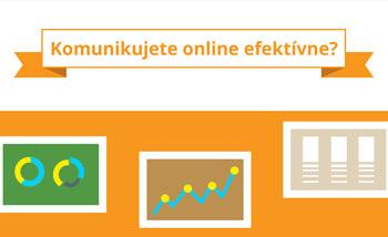 infografika online komunikácia mini